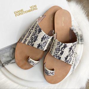 NEW Diane von Furstenberg Brittany Sandal Size 7.5